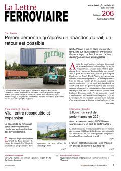 La Lettre ferroviaire n°206