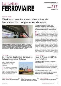 La Lettre ferroviaire n°217