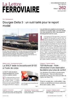 À lire dans La Lettre ferroviaire 262