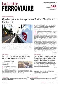 À lire dans La Lettre ferroviaire 266