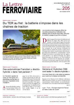 À lire dans La Lettre ferroviaire 205