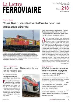 La Lettre ferroviaire n°218