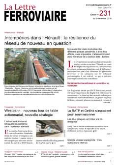 À lire dans La Lettre ferroviaire 231