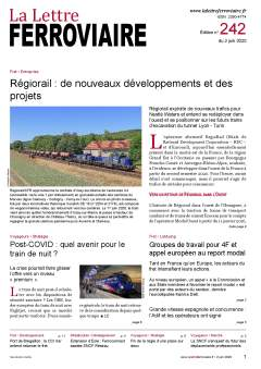 La Lettre ferroviaire n°242