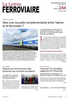 La Lettre ferroviaire n°244