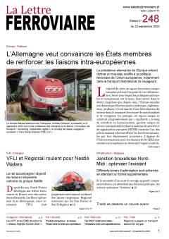 À lire dans La Lettre ferroviaire 248