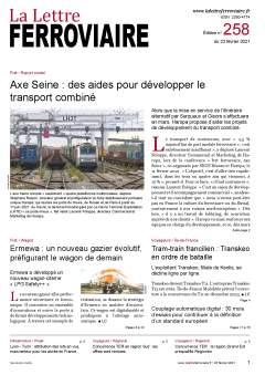 À lire dans La Lettre ferroviaire 258