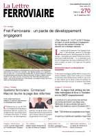 À lire dans La Lettre ferroviaire 270